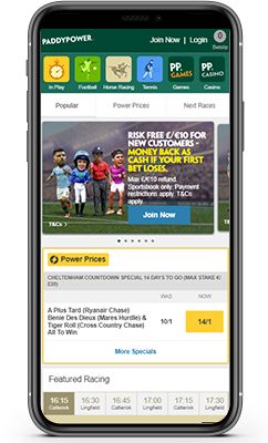 Paddy Power Sportsbook Review 2021  - Betting Features & Bonuses